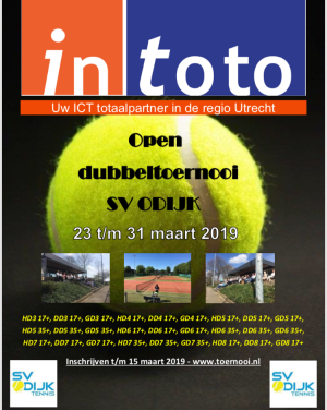InToto Open Dubbeltoernooi 2019