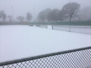 Teveel sneeuw op de banen
