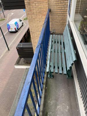 Op een balkon in Zeist